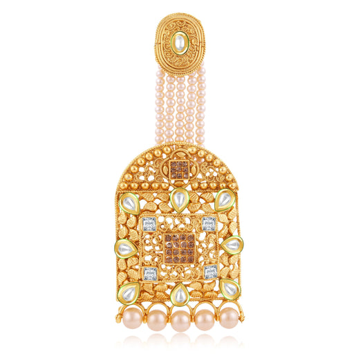 Sukkhi Trendy Gold Plated Passa For Women