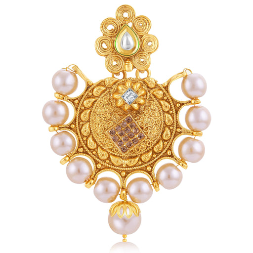 Sukkhi Exotic Jalebi Gold Plated Passa For Women