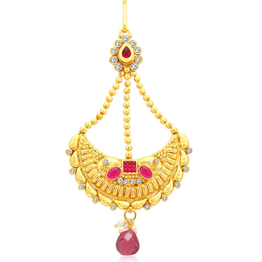Sukkhi Modish Gold Plated AD Passa For Women