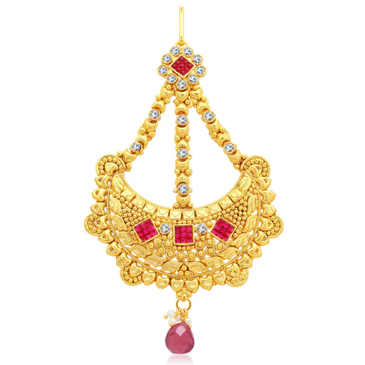 Sukkhi Trendy Gold Plated AD Passa For Women