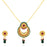 Sukkhi Fine Gold Plated Pendant Set For Women