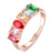 Sukkhi Cluster Crystal Stone Gold Plated Multi Colour Ring for Women - 8