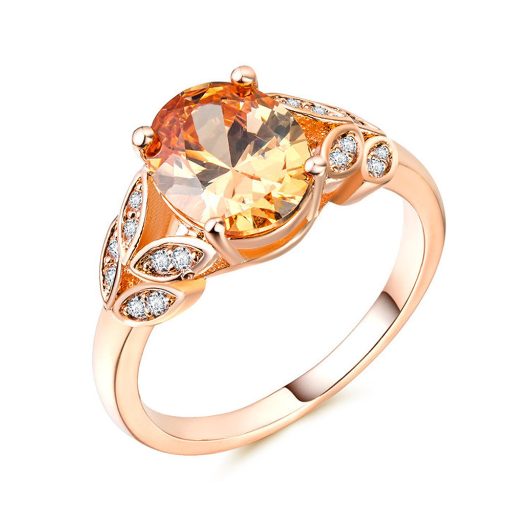Sukkhi Exclusive  Crystal Stone Gold Plated Multi Colour Ring for Women - 8