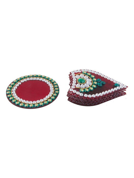 Sukkhi Must-Have Traditional Red Rangoli-2