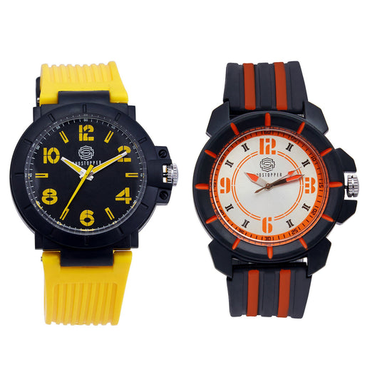 Shostopper Vintage Collection Combo Watches for Mens SJ164WCB