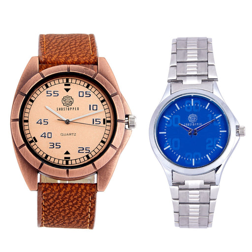 Shostopper Vintage Collection Combo Watches for Mens SJ168WCB