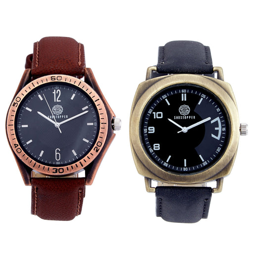 Shostopper Vintage Collection Combo Watches for Mens SJ169WCB