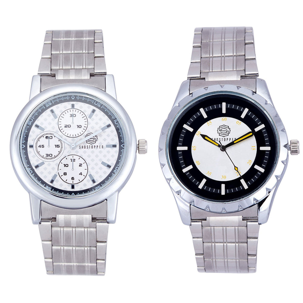 Shostopper Vintage Collection Combo Watches for Mens SJ171WCB