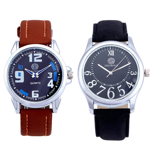 Shostopper Vintage Collection Combo Watches for Mens SJ172WCB