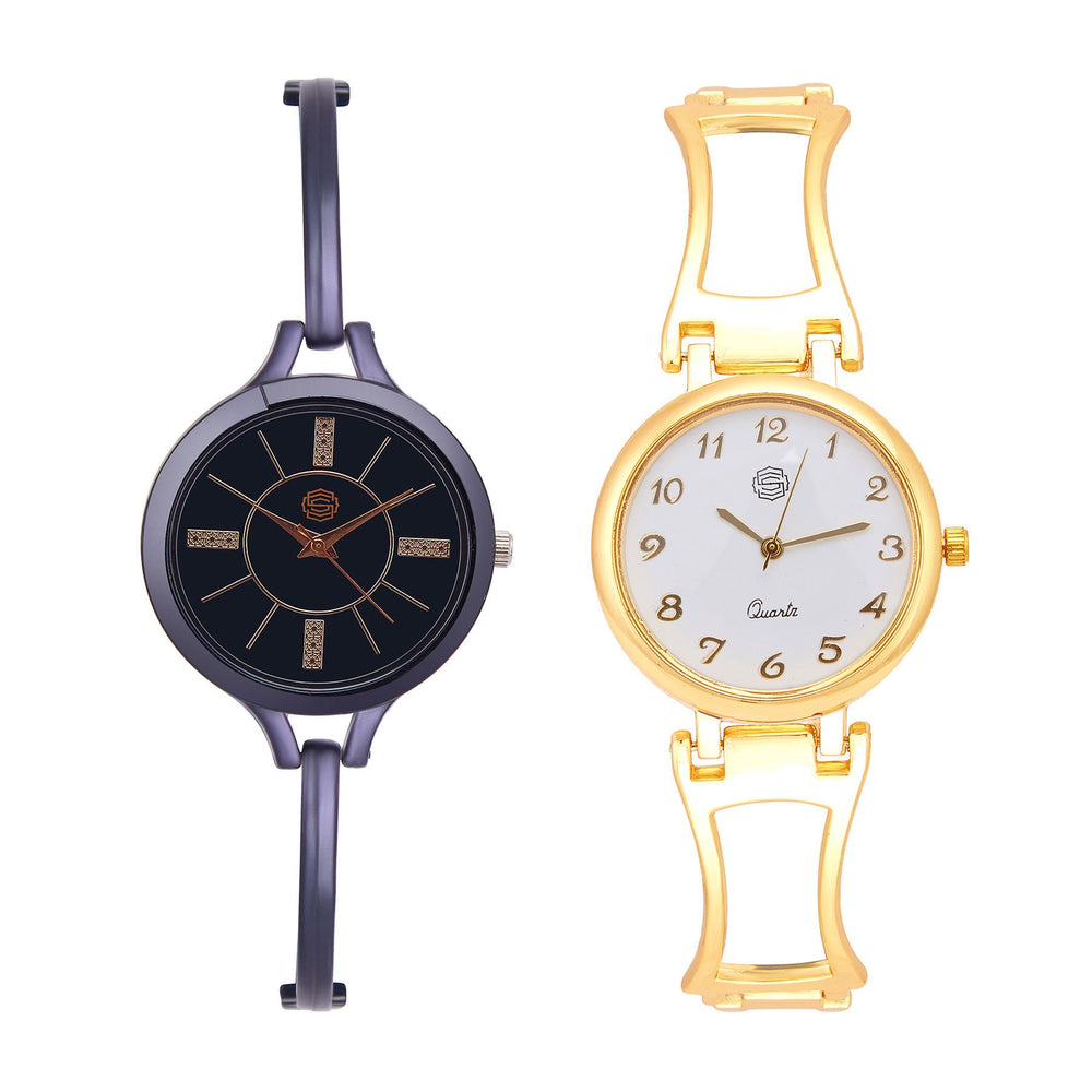 Shostopper Vintage Collection Combo Watches for Womens SJ180WCB