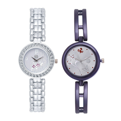 Shostopper Vintage Collection Combo Watches for Womens SJ181WCB
