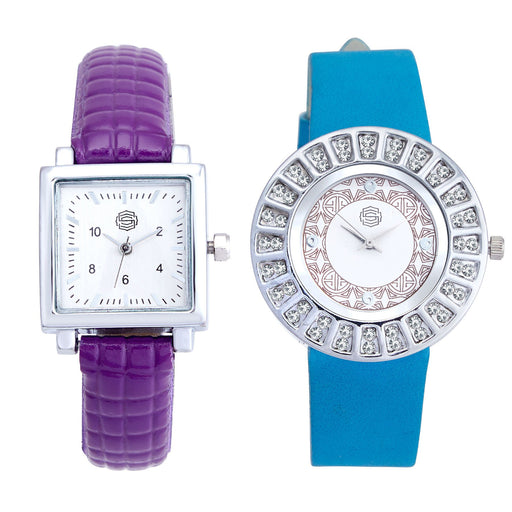 Shostopper Vintage Collection Combo Watches for Womens SJ184WCB