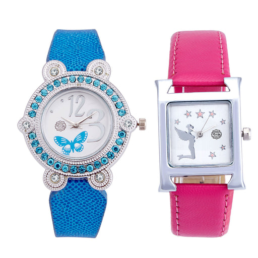 Shostopper Vintage Collection Combo Watches for Womens SJ185WCB