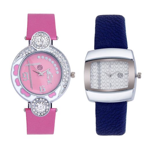 Shostopper Vintage Collection Combo Watches for Womens SJ186WCB