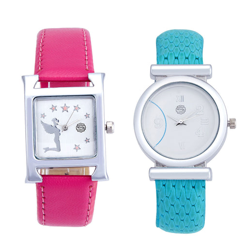 Shostopper Vintage Collection Combo Watches for Womens SJ188WCB