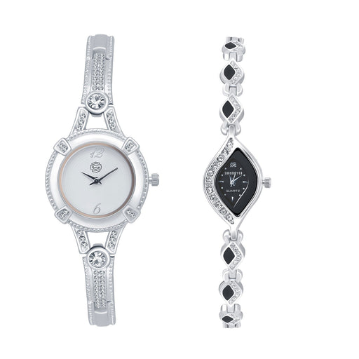 Shostopper Vintage Collection Combo Watches for Womens SJ189WCB