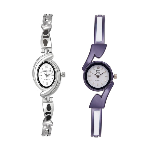 Shostopper Vintage Collection Combo Watches for Womens SJ193WCB