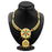 ShoStopper Exotic Gold Plated Meenakari Necklace Set-1