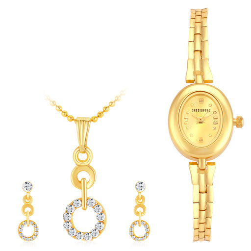 Sukkhi by Shostopper Vintage Collection Combo Of Pendant Set & Watch SJ236CB