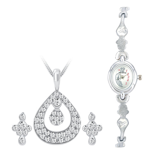 Shostopper Vintage Collection Combo Of Pendant Set & Watch SJ240CB
