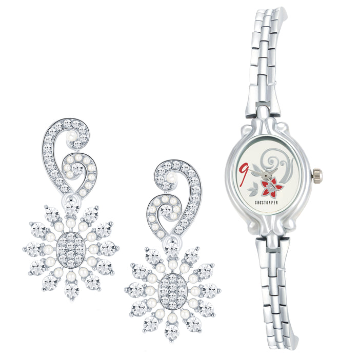 Sukkhi by Shostopper Vintage Collection Combo Of Earring & Watch SJ241CB