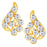 ShoStopper Sublime Gold Plated Austrian Diamond Pendant Set-2