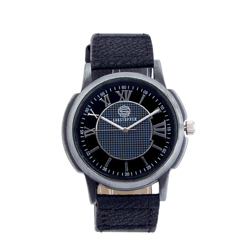 Shostopper Classic Black Dial Analogue Watch For Men - SJ60006WM