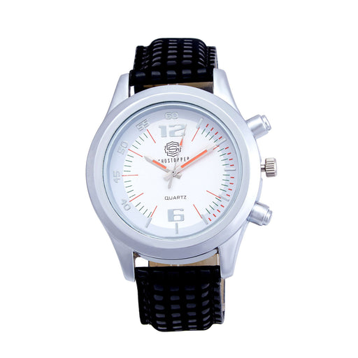 Shostopper Exquisite White Dial Analogue Watch For Men - SJ60015WM