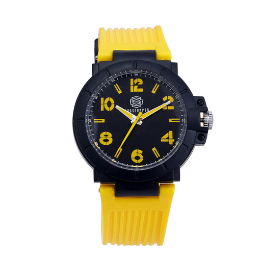 Shostopper Sporty Black Dial Analogue Watch For Men - SJ60022WM