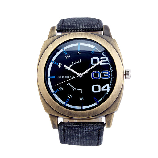 Shostopper Stylish Navy Blue Dial Analogue Watch For Men - SJ60023WM