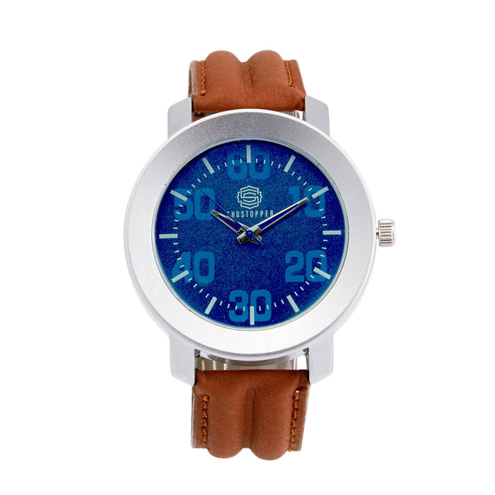 Shostopper Cool Blue Dial Analogue Watch For Men - SJ60031WM