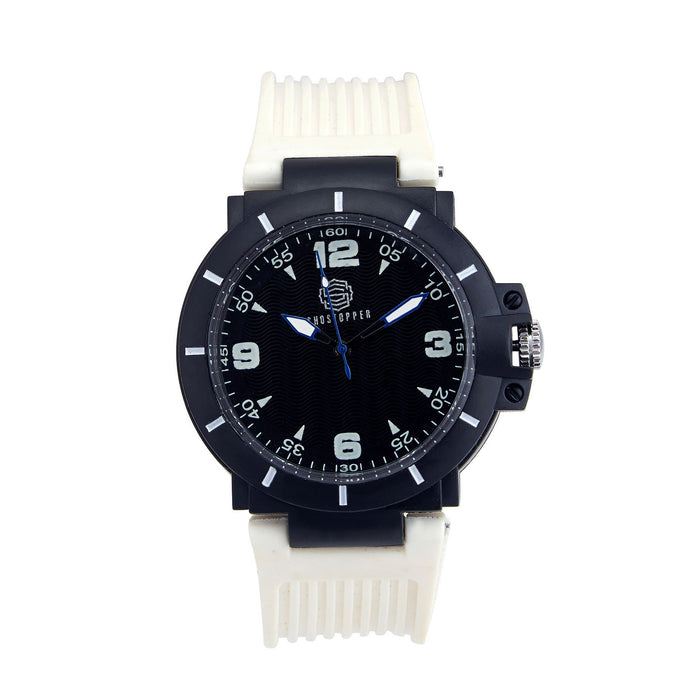 Shostopper Sporty Black Dial Analogue Watch For Men - SJ60032WM