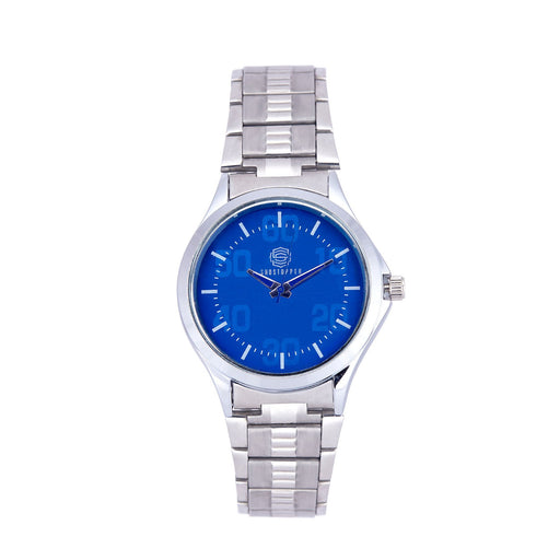 Shostopper Blue Dial Metallic Analogue Watch For Men - SJ60049WM