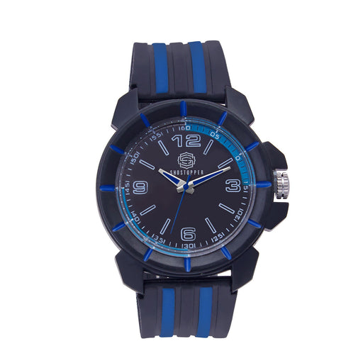 Shostopper Sporty Black Dial Analogue Watch For Men - SJ60051WM