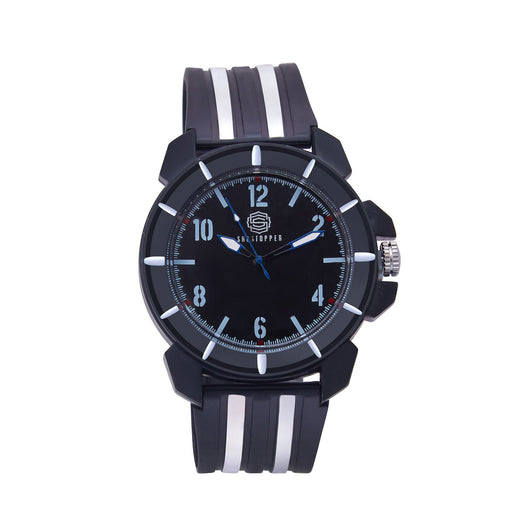 Shostopper Zebra Sporty Black Dial Analogue Watch For Men - SJ60052WM