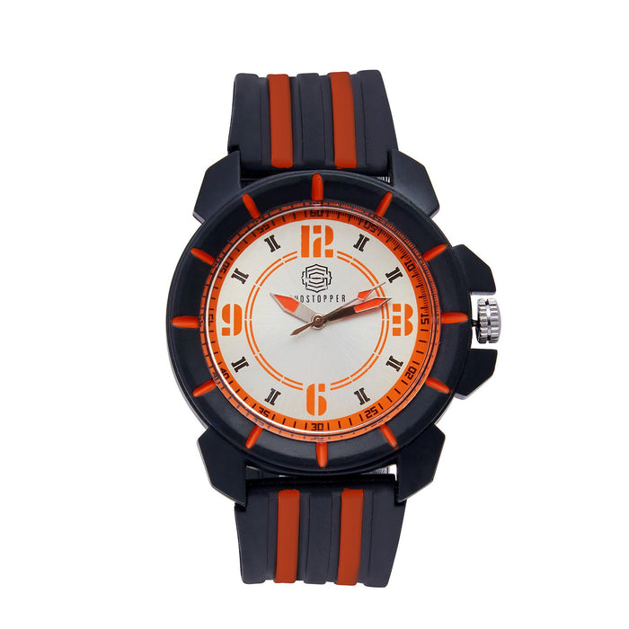 Shostopper Candy Sporty White Dial Analogue Watch For Men - SJ60055WM