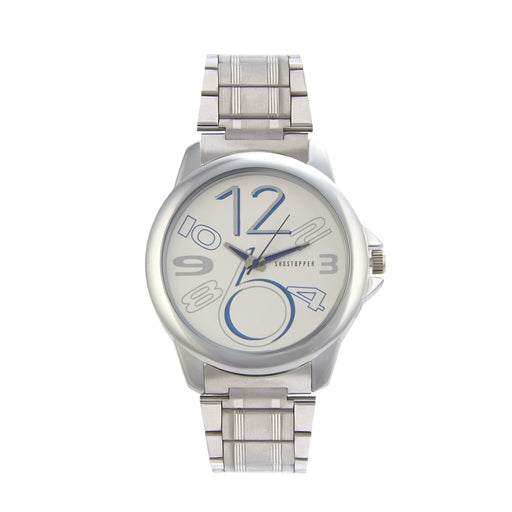 Shostopper Cool White Dial Analogue Watch For Men -SJ60058WM