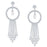 ShoStopper Youthful Rhodium Plated Austrian Diamond Earring