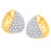 ShoStopper Graceful Gold Plated Stud Earring SJ6110EM