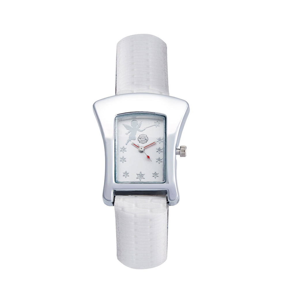 Shostopper Angelic White Dial Analogue Watch For Women - SJ62004WW