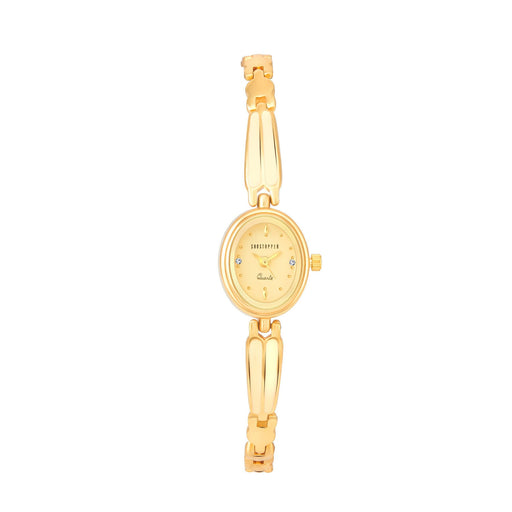 Shostopper Astonish Cream Dial Analogue Watch For Women - SJ62014WW
