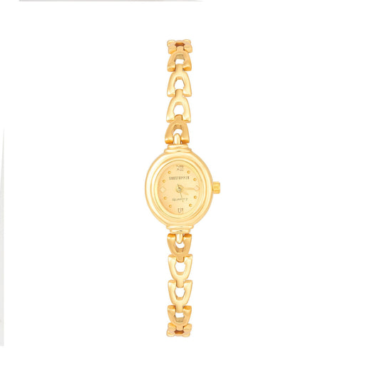 Shostopper Bracelet Gold Dial Analogue Watch For Women - SJ62015WW