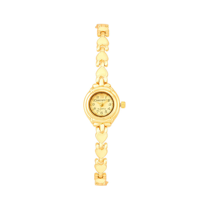 Shostopper Loveable Cream Dial Analogue Watch For Women - SJ62018WW