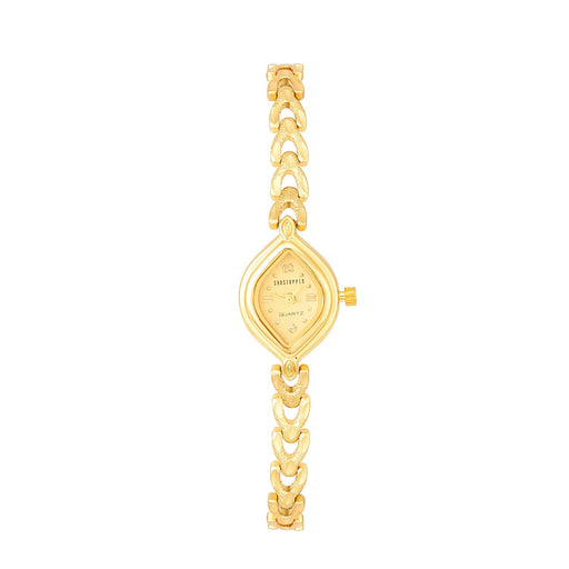 Shostopper Princess Gold Dial Analogue Watch For Women - SJ62021WW