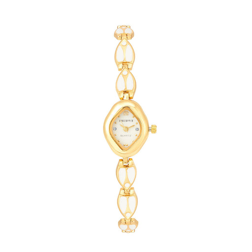 Shostopper Magnifecent White Dial Analogue Watch For Women - SJ62022WW
