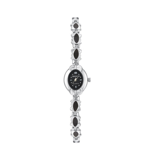 Shostopper Attractive Black Dial Analogue Watch For Women - SJ62026WW