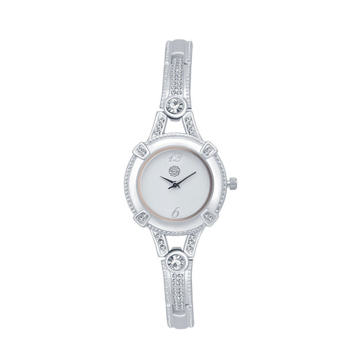 Shostopper Ethnic White Dial Analogue Watch For Women - SJ62033WW