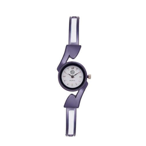 Shostopper Sleek White Dial Analogue Watch For Women - SJ62038WW