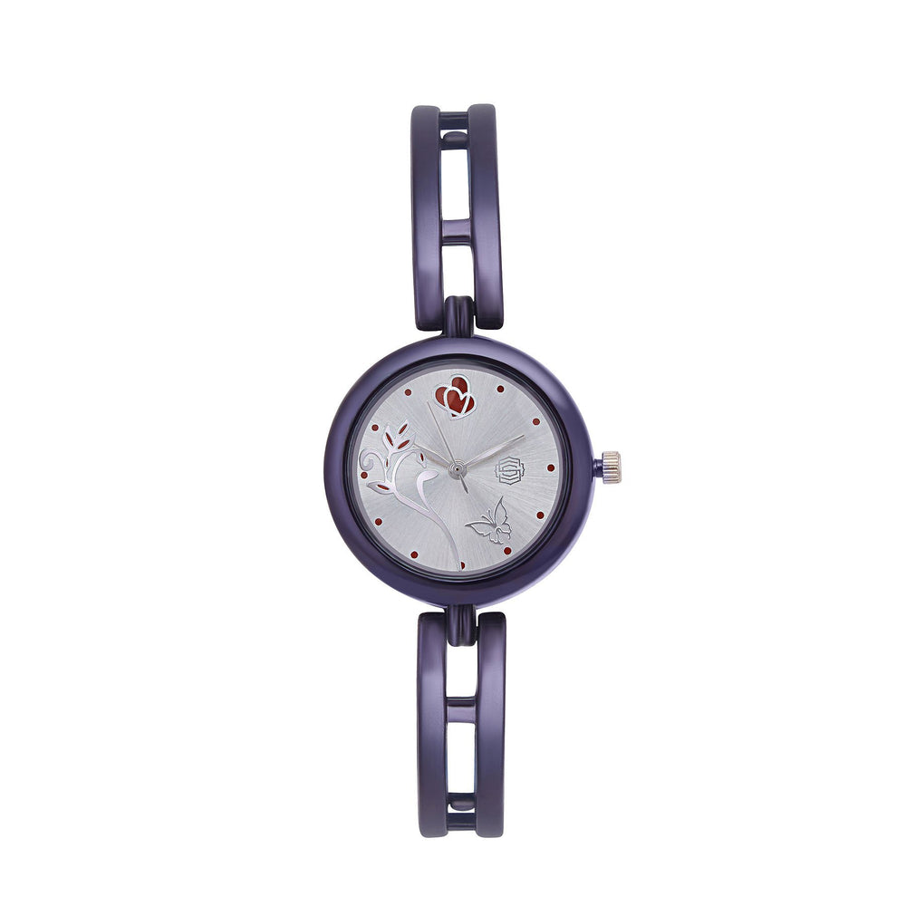 Shostopper Beautiful Silver Dial Analogue Watch For Women - SJ62039WW