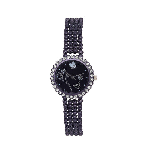Shostopper Wildstone Black Dial Analogue Watch For Women - SJ62042WW